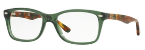 Ray Ban Glasses RX5228 Opal Green