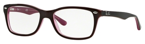 Ray Ban Glasses RX5228 Brown/Pink