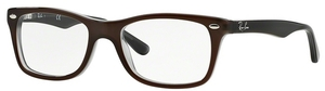 Ray Ban Glasses RX5228 TOP BROWN ON OPAL AZURE