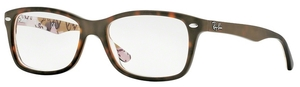 Ray Ban Glasses RX5228 Top Mat Havana SU Texture Camuflag