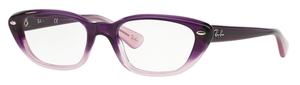Ray Ban Glasses RX5242 Violet Fade Opal