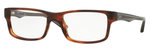 Ray Ban Glasses RX5245 Striped Havana