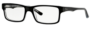 Ray Ban Glasses RX5245 Top Black on Transparent