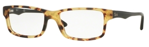 Ray Ban Glasses RX5245 Yellow Havana