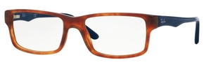 Ray Ban Glasses RX5245 Yellow Tortoise
