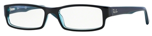 Ray Ban Glasses RX5246 Black/Grey/Turquoise