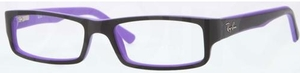 Ray Ban Glasses RX5246 Top Black on Matte Violet