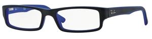 Ray Ban Glasses RX5246 Top Black on Matte Blue