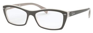 Ray Ban Glasses RX5255 Top Grey/Ice/Beige
