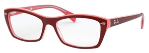 Ray Ban Glasses RX5255 Top Red/Pink/Fuscia
