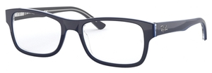 Ray Ban Glasses RX5268 Grey on Top Blue