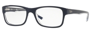 Ray Ban Glasses RX5268 Top Blue on Transparent 5739