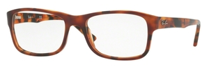 Ray Ban Glasses RX5268 Top Brown Havana/Yellow Havana 5675