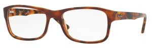 Ray Ban Glasses RX5268 Top Brown Havana/Yellow Havana