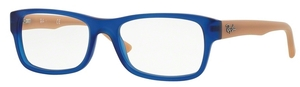 Ray Ban Glasses RX5268 Matte Blue