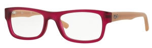 Ray Ban Glasses RX5268 Matte Pink