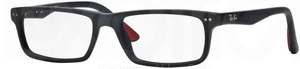 Ray Ban Glasses RX5277 Sandblasted Black 2077