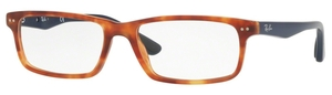 Ray Ban Glasses RX5277 Shiny Red Havana