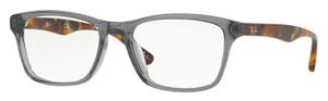 Ray Ban Glasses RX5279F Asian Fit Shiny Opal Grey