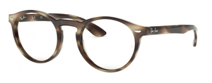 Ray Ban Glasses RX5283 Horn Beige Brown