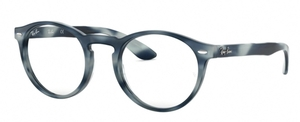 Ray Ban Glasses RX5283 Horn Grey Blue