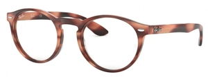 Ray Ban Glasses RX5283 HORN PINK BROWN