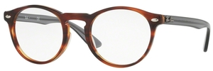 Ray Ban Glasses RX5283 Striped Havana 5607