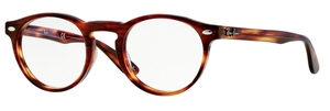 Ray Ban Glasses RX5283 Striped Havana