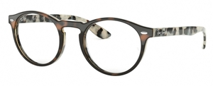 Ray Ban Glasses RX5283 Top Havana Brown Beige