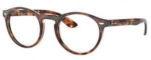 Ray Ban Glasses RX5283 Top Havana Brown/Yellow