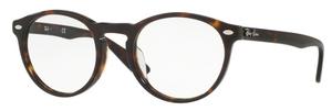Ray Ban Glasses RX5283F Asian Fit Dark Havana