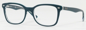 Ray Ban Glasses RX5285 Top Turquoise on Transparent