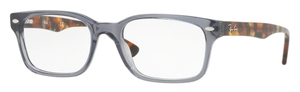 Ray Ban Glasses RX 5286 Shiny Opal Grey