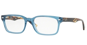 Ray Ban Glasses RX 5286 Transparent Blue