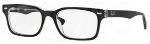 Ray Ban Glasses RX 5286 Top Black on Transparent c2034
