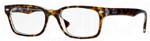 Ray Ban Glasses RX 5286 Top Havana on Transparent c5082