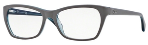 Ray Ban Glasses RX5298 Top Matte Grey on Trasp Oil