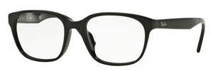 Ray Ban Glasses RX5340F Asian Fit Shiny Black