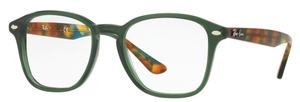 Ray Ban Glasses RX5352 Opal Green