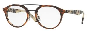 Ray Ban Glasses RX5354F Top Brown Havana/Havana Beige
