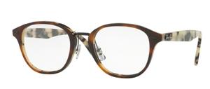 Ray Ban Glasses RX5355 Top Brown Havana/Havana Beige