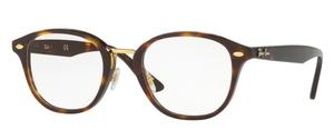Ray Ban Glasses RX5355 Top Brown Havana/Havana Brown