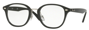 Ray Ban Glasses RX5355F Shiny Black