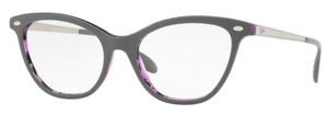 Ray Ban Glasses RX5360 Top Grey on Havana Violet