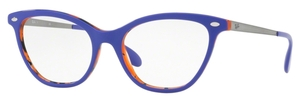 Ray Ban Glasses RX5360 Top Violet on Havana Orange