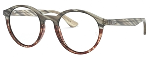 Ray Ban Glasses RX5361 Grey Gradient Brown