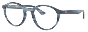 Ray Ban Glasses RX5361 Horn Grey Blue