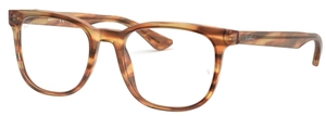Ray Ban Glasses RX5369 Havana Red Brown