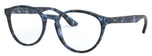 Ray Ban Glasses RX5380 Havana Opal Blue