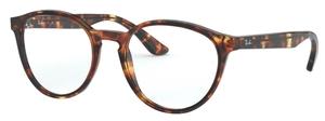 Ray Ban Glasses RX5380 Havana Opal Brown
